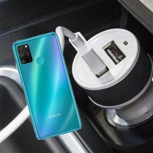 Автомобильная зарядка для Huawei Honor 9A высокой мощности 2 USB 2.1A