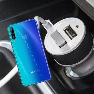 Автомобильная зарядка для Huawei Honor 9C высокой мощности 2 USB 2.1A