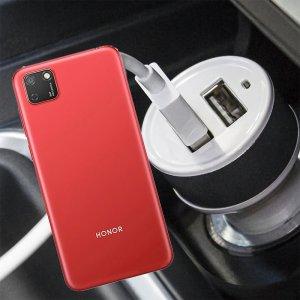 Автомобильная зарядка для Huawei Y5p / Honor 9S высокой мощности 2 USB 2.1A
