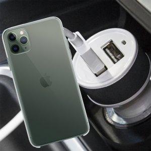 Автомобильная зарядка для iPhone 11 Pro Max высокой мощности 2 USB 2.1A