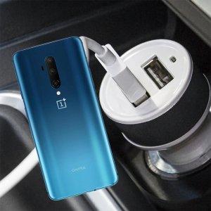 Автомобильная зарядка для OnePlus 7T Pro высокой мощности 2 USB 2.1A