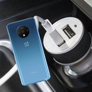 Автомобильная зарядка для OnePlus 7T высокой мощности 2 USB 2.1A