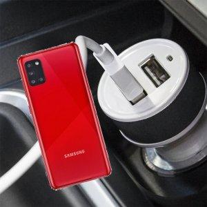 Автомобильная зарядка для Samsung Galaxy A31 высокой мощности 2 USB 2.1A