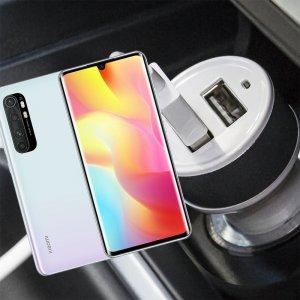 Автомобильная зарядка для Xiaomi Mi Note 10 Lite высокой мощности 2 USB 2.1A