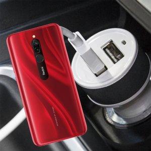 Автомобильная зарядка для Xiaomi Redmi 8 высокой мощности 2 USB 2.1A