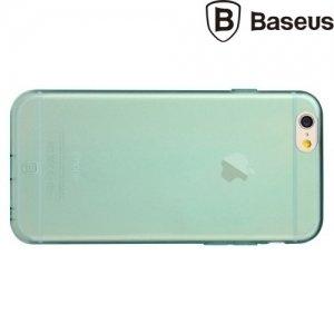 Baseus Simple Series 0.7мм силиконовый чехол для iPhone 6S / 6 - Голубой