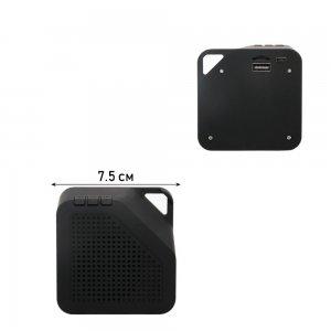 Беспроводная Bluetooth колонка USB, microSD и Радио - Черная