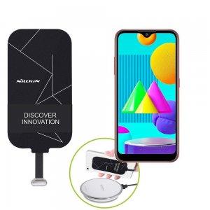 Беспроводная зарядка для Samsung Galaxy M01 адаптер приемник