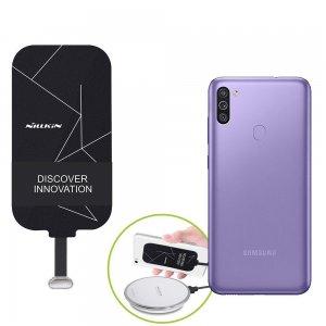 Беспроводная зарядка для Samsung Galaxy M11 адаптер приемник