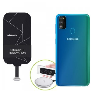 Беспроводная зарядка для Samsung Galaxy M30s адаптер приемник