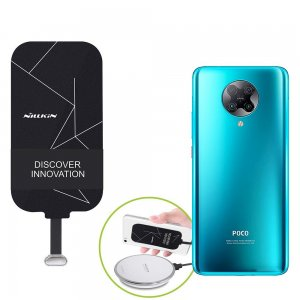 Беспроводная зарядка для Xiaomi Poco F2 Pro адаптер приемник