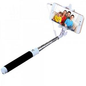 Монопод селфи палка для телефона с проводом (модель SS2)