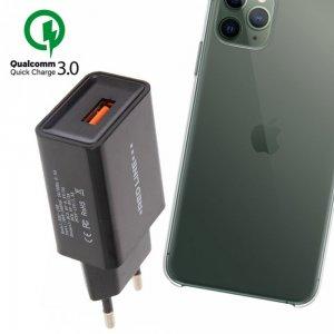 Быстрая зарядка для iPhone 11 Pro Max Quick Сharge 3.0