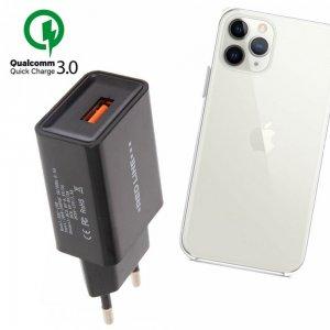 Быстрая зарядка для iPhone 11 Pro Quick Сharge 3.0
