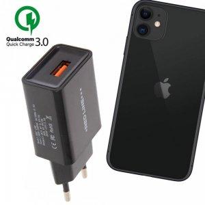 Быстрая зарядка для iPhone 11 Quick Сharge 3.0