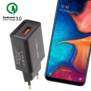 Быстрая зарядка для Samsung Galaxy A30 / A20 Quick Сharge 3.0