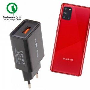 Быстрая зарядка для Samsung Galaxy A31 Quick Сharge 3.0