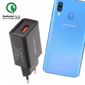 Быстрая зарядка для Samsung Galaxy A40 Quick Сharge 3.0