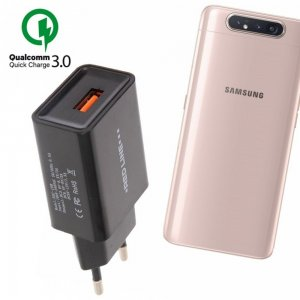Быстрая зарядка для Samsung Galaxy A80 Quick Сharge 3.0