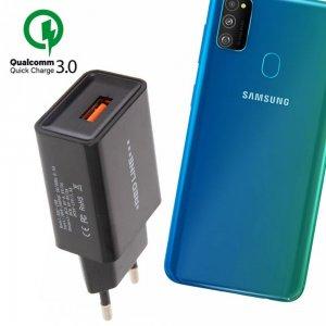Быстрая зарядка для Samsung Galaxy M30s Quick Сharge 3.0