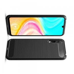 Carbon Силиконовый матовый чехол для Huawei Y8p / Honor 30i - Черный