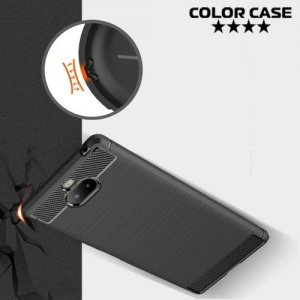 Carbon Силиконовый матовый чехол для Sony Xperia XA3 Ultra - Коралловый