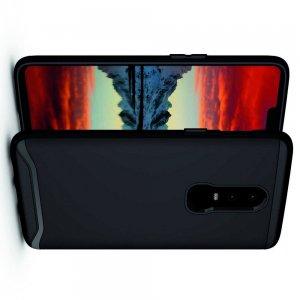 Carbon Силиконовый матовый чехол для Xiaomi Redmi 8 - Черный
