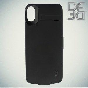 Чехол аккумулятор для Apple iPhone Xs / X DF iBattery-22 - Черный