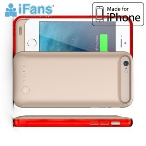 Чехол аккумулятор для iPhone 6S / 6 IFANS 3100mAh - Золотой