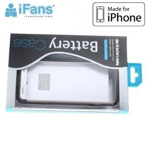 Чехол аккумулятор для iPhone 6S / 6 IFANS ULTRA SLIM 3200 mAh - Серебрянный