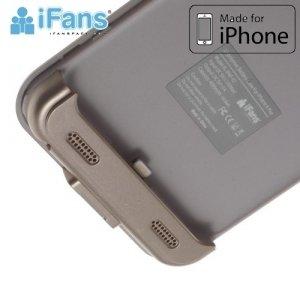 Чехол аккумулятор для iPhone 6S / 6 IFANS ULTRA SLIM 3200 mAh - Золотой