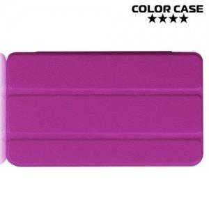 Чехол книжка для Huawei Mediapad M2 7.0 - Фиолетовый