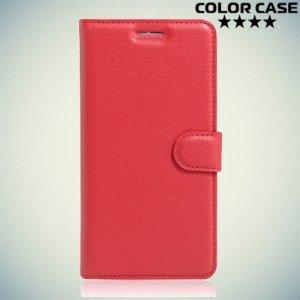 Чехол флип книжка для Acer Liquid Zest Z525 Z528 - Красный