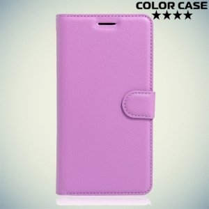 Чехол флип книжка для Acer Liquid Zest Z525 Z528 - Фиолетовый