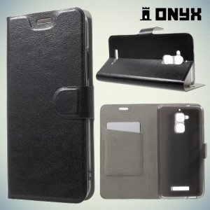 Чехол флип книжка для Asus ZenFone 3 Max ZC520TL  - Черный