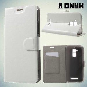 Чехол флип книжка для Asus ZenFone 3 Max ZC520TL  - Белый