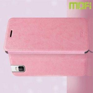 Чехол флип книжка для Huawei ShotX - Розовый
