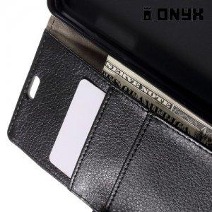 Чехол флип книжка для LG X Style K200DS - Черный