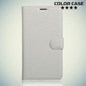 Чехол флип книжка для Meizu m3s mini / m3 mini - Белый