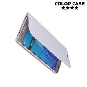 Чехол флип книжка для Samsung Galaxy J5 2016 SM-J510 - Белый