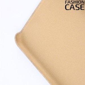 Чехол кейс обтянутый эко-кожей для iPhone 8 Plus / 7 Plus - Бежевый