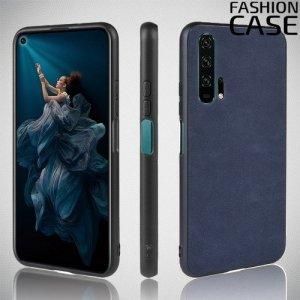 Чехол кейс под кожу для Huawei Honor 20 Pro - Синий