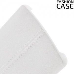 Чехол кейс под кожу для LG V10 - Белый