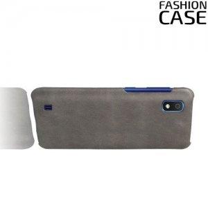 Чехол кейс под кожу для Samsung Galaxy A10 - Серый