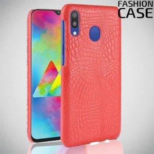Чехол кейс под кожу для Samsung Galaxy A20e - Красный
