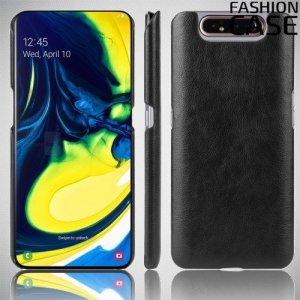 Чехол кейс под кожу для Samsung Galaxy A80 / A90 - Черный