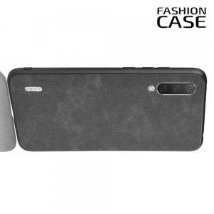 Чехол кейс под кожу для Xiaomi Mi A3 - Черный