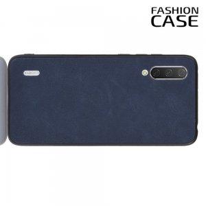Чехол кейс под кожу для Xiaomi Mi A3 - Синий