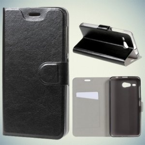 Чехол книжка для Acer Liquid Z520 - Черный