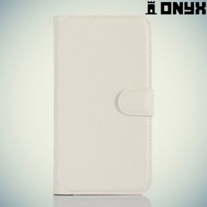 Чехол книжка для Acer Liquid Z630 - Белый